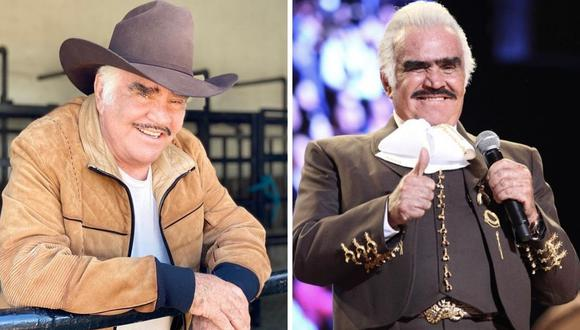 Familia de Vicente Fernández siguen dando detalles sobre el estado del cantante mexicano. (Foto: Instagram  @_vicentefdez)