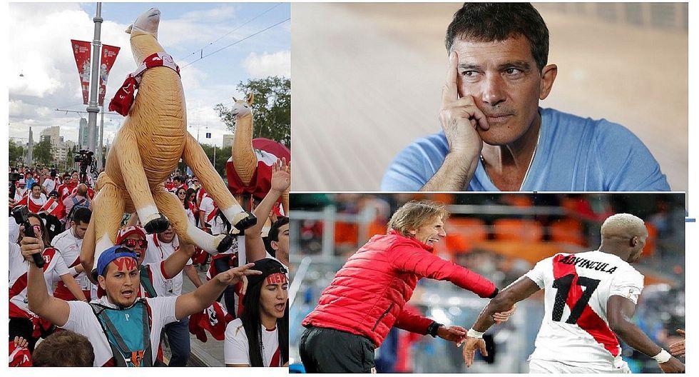 """Antonio Banderas sobre selección: """"Perú queda eliminado practicando juego noble y sin miedos en Mundial"""""""