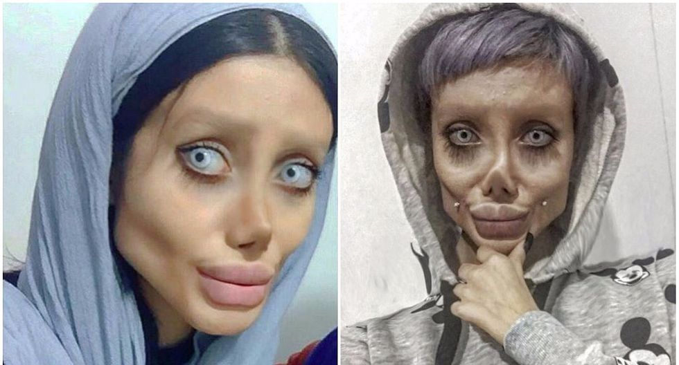 """Joven niega haberse operado para lucir como Angelina Jolie: """"Es Photoshop y maquillaje"""""""