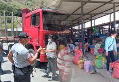 Paro de transportistas se radicaliza en Huánuco