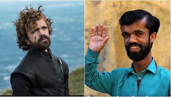 """""""Tyrion Lannister"""" pakistaní ansía ser actor y protagonista de una serie como 'Game of Thrones'"""