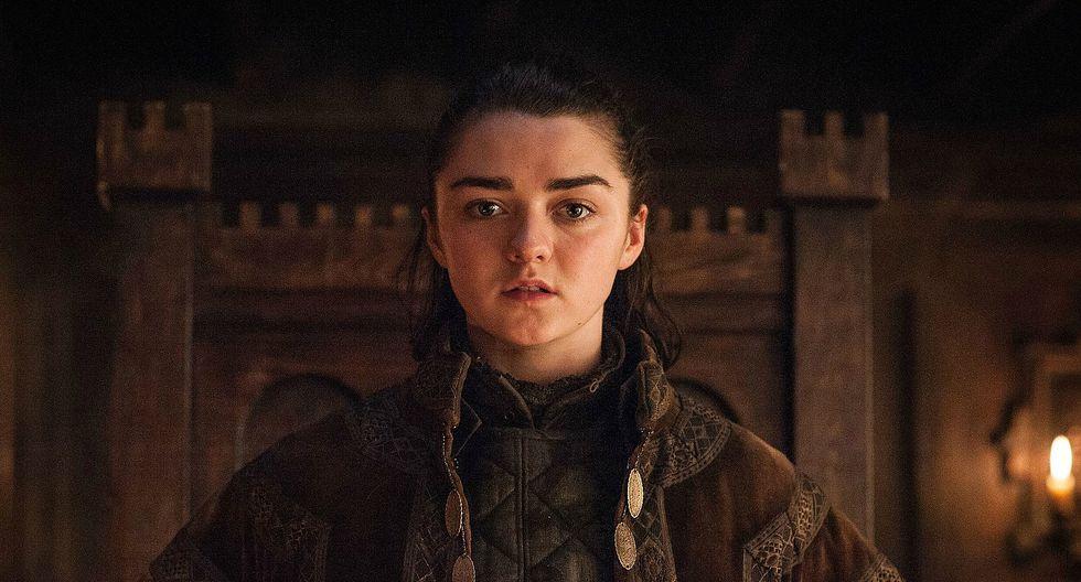 Maisie Williams revela su primera foto como 'Arya Stark' en Game of Thrones