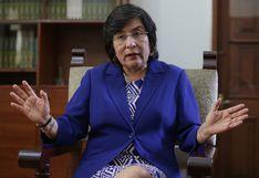 """Presidenta del TC: """"Ahora el blindaje para el ejercicio de la función solo lo tienen los congresistas"""""""