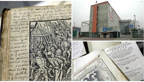 Cinco valiosos libros que puedes encontrar en la Biblioteca Nacional del Perú