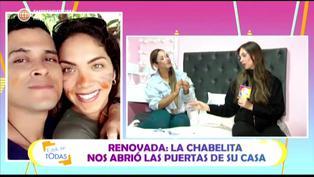 "Isabel Acevedo a Christian Domínguez: ""Trato de recordar los episodios bonitos, nunca me quedo con lo malo"""
