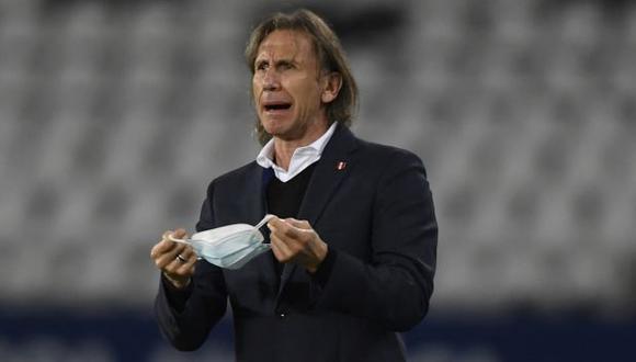 Ricardo Gareca dio una opinión sobre la final entre Argentina y Brasil. (Foto: AFP)