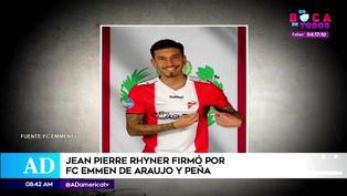 Jean Pierre Rhyner llegó al FC Emmen hasta final de temporada