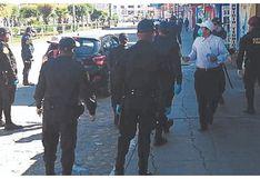 Áncash: Cien policías piden pasar pruebas contra COVID-19