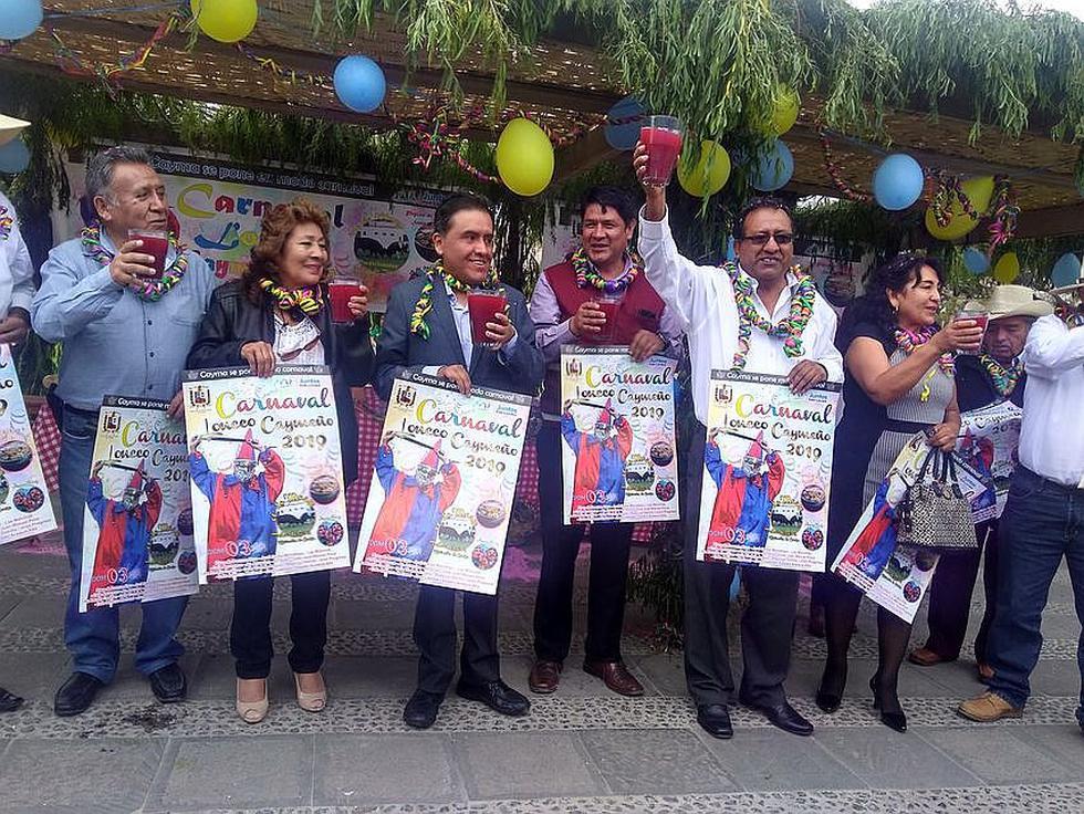 Cayma  se alista para celebrar el Carnaval Loncco (FOTOS)