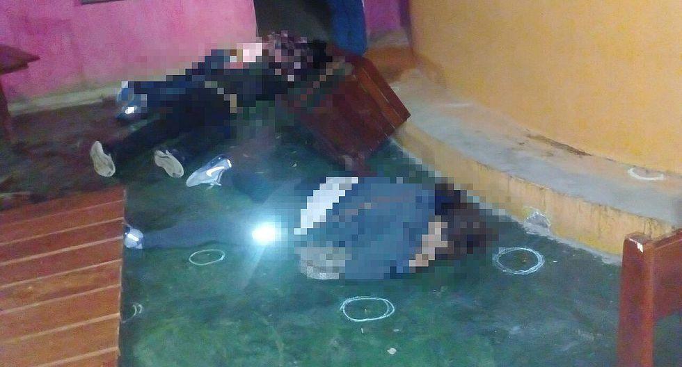 Sicarios asesinan a cuatro personas en Chincha