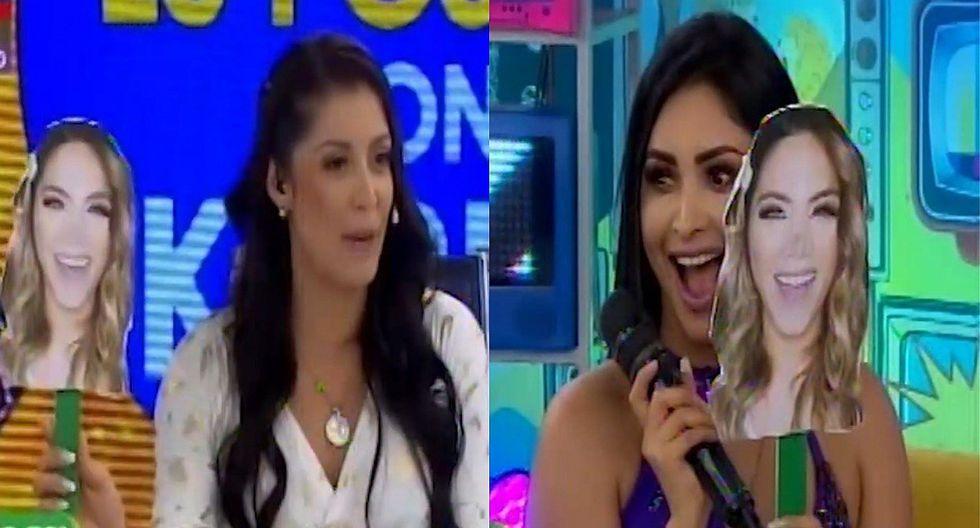 Karla Tarazona y Pamela Franco se ríen de 'Chabelita' en vivo (VIDEO)