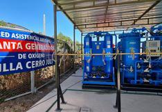 Ponen en funcionamiento planta de oxígeno para atención de pacientes COVID-19 en Arequipa