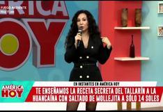 """Janet Barboza usó vestido diseñado por su hija y Giselo respondió: """"Pareces el inspector Truquini"""""""
