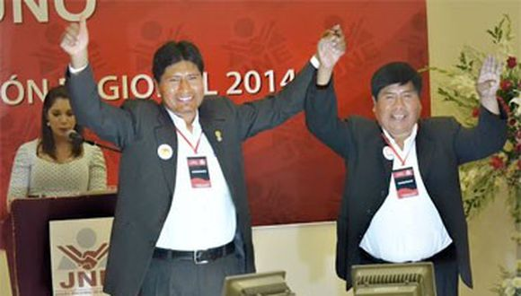 Candidatos a presidente regional realizan desayunos electorales en Puno y Juliaca