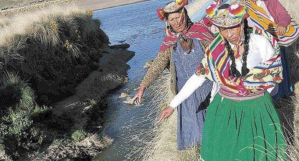 Dejan sin agua potable a pobladores de Coata y Capachica en Puno