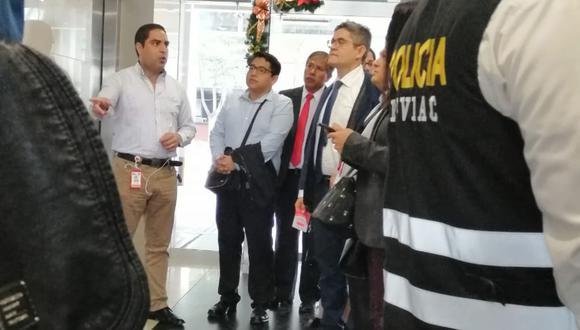 José Domingo Pérez, del equipo especial Lava Jato, intervino esta mañana las oficinas de Claro en La Victoria. (Foto: Difusión)