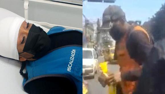 La agresión del ambulante contra la fiscalizadora ocurrió en la cuadra 3 de la Av. Argentina. (Foto: MML)