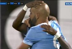 Sporting Cristal vs. Municipal: gol de cabeza de Marcos Riquelme para el 1-1 celeste (VIDEO)