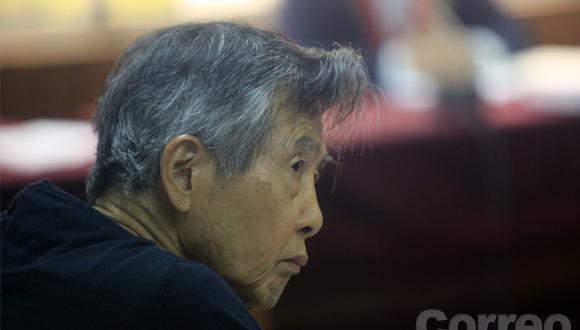 PJ evaluará hoy pedido de arresto domiciliario de Alberto Fujimori