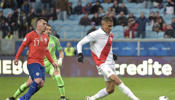 Gol de Guerrero a Chile fue tomado en cuenta por CONMEBOL. (Foto: AFP)