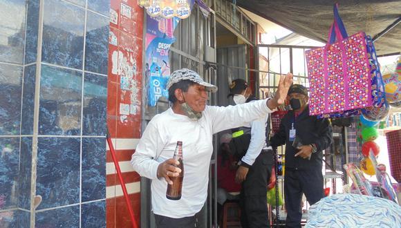 Tacna: clausuran bar clandestino que atendía a las personas bajo la fachada de bazar (Foto: Municipalidad Alto de la Alianza)