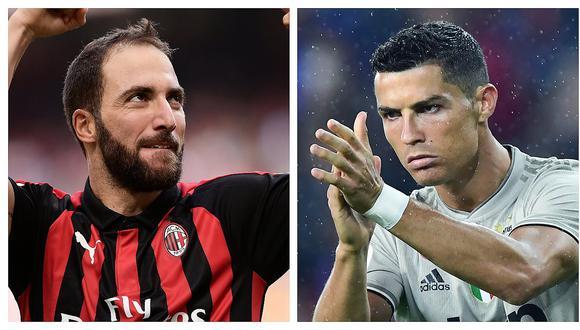 Gonzalo Higuaín contó que Cristiano Ronaldo fue la causa de su salida de la Juventus
