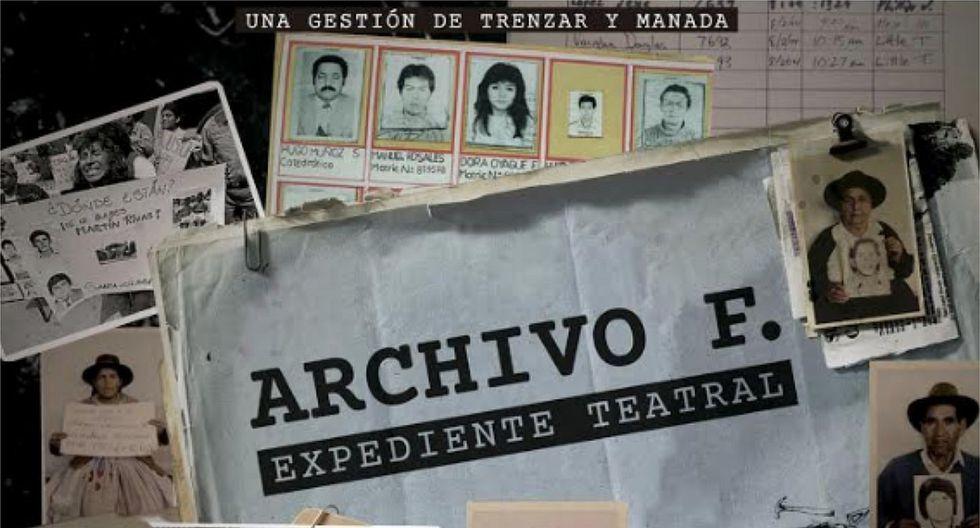 """""""Archivo F: expediente teatral"""", un viaje a través de la memoria del país"""