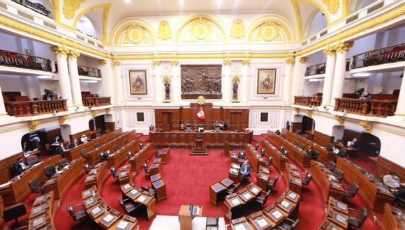 El pleno del Congreso había iniciado esta mañana el debate de la insistencia de la autógrafa de ley, que plantea la devolución de los aportes al Decreto Ley 19990, administrado por la Oficina de Normalización Previsional (ONP). Foto: Congreso