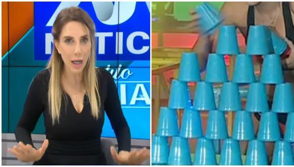 """Juliana Oxenford apoya bono para actores, pero advierte que """"artista no son todos"""". (Foto: ATV / América TV)"""