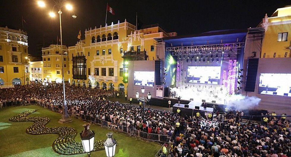 Una enorme fiesta por el 484 aniversario de Lima