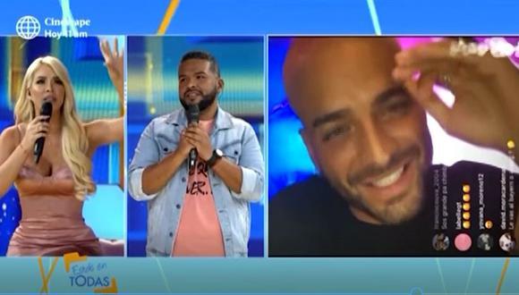 Sheyla Rojas habló sobre críticas que recibió por comentario en live de Maluma. (Foto: captura de pantalla /América TV)