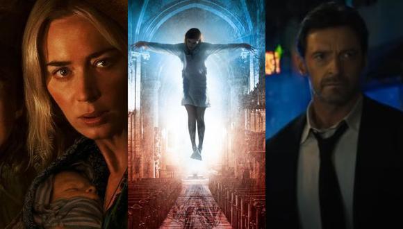 """""""Contra el demonio"""", """"Un lugar en silencio II"""", """"Reminiscencia"""" y más películas en la cartelera de esta semana (Foto: Composición)"""