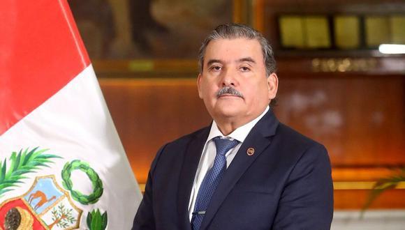 Cluber Fernando Aliaga Lodtmann, flamante ministro del Interior. (Foto: Mininter)