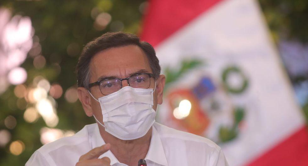 El presidente Martín Vizcarra se pronunció sobre el proyecto que podría reducir los requisitos para acceder a cargos de elección popular. (Foto: Presidencia)