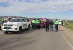 Cinco muertos tras violento choque de vehículos en la vía Juliaca - Huancané