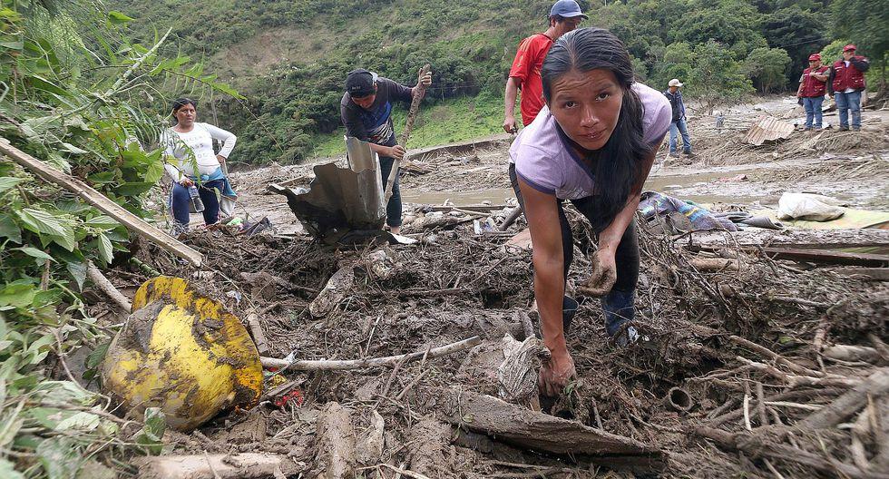 Cusco: continúa la búsqueda de desaparecidos tras desborde en Santa Teresa