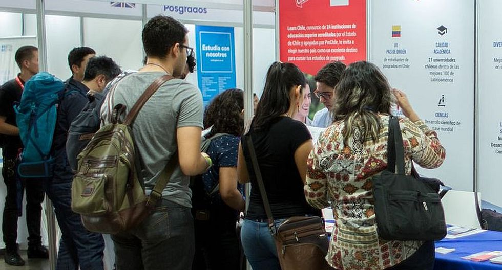 Universidades de Chile interesados en estudiantes peruanos a través de becas