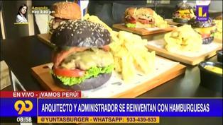 Arquitecto y administrador se reinventan ofreciendo deliciosas hamburguesas artesanales