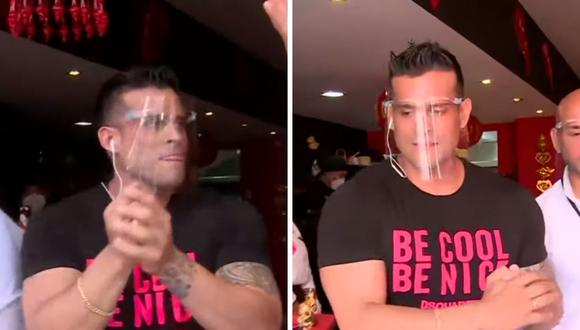 Christian Domínguez señaló que decidió emprender por el bien de su familia. (Foto: Captura de América TV).