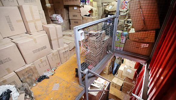 Cercado de Lima: MML clausura almacén de golosinas clandestino