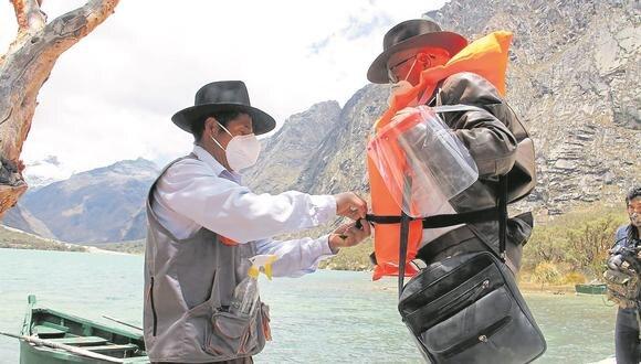 Sernanp habilita siete circuitos turísticos que los visitantes podrán recorrer de manera segura.