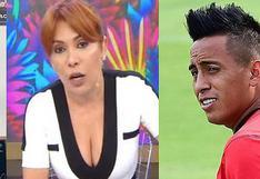 "Magaly Medina arremete contra Christian Cueva por no negar presunta fiesta: ""Pedazo de mentiroso"""