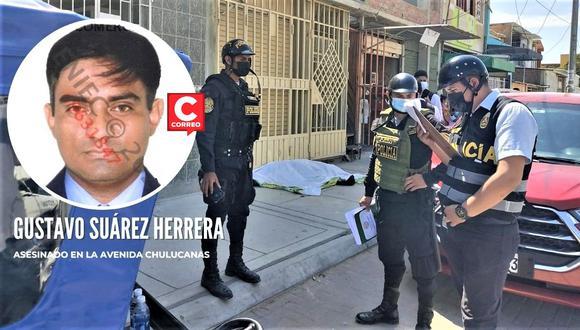 De dos balazos, uno en la cabeza y otro en el pecho, un hombre fue asesinado en la avenida Chulucanas, cerca al hospital Santa Rosa.