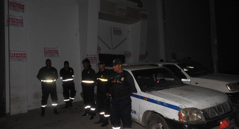 La operación contó con la participación de la Policía Nacional del Perú (PNP). (Foto: Municipalidad de VES)