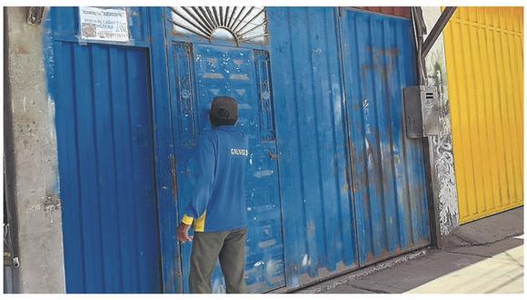 Yhonatan Alexis Tandazo Sedamano recibió una fuerte descarga eléctrica cuando realizaba trabajos en un taller de estructuras metálicas.