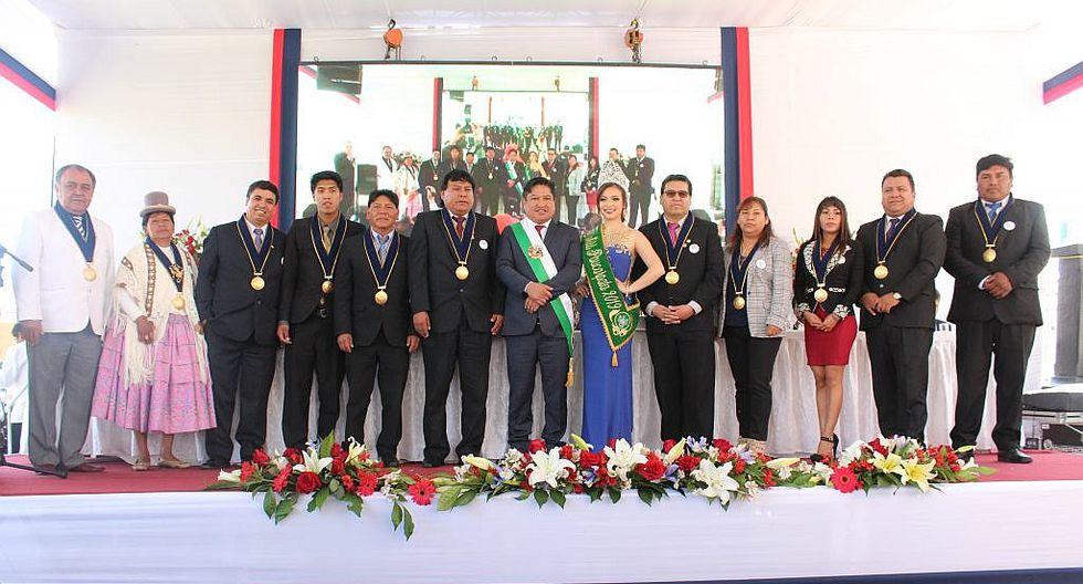 Paucarpata celebra 194 años de creación política