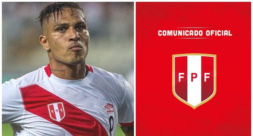 Paolo Guerrero: FPF emite comunicado tras suspensión por parte de la FIFA (FOTO)