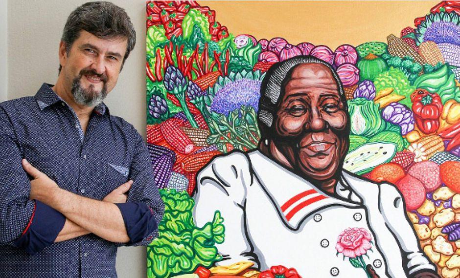 Artista brasileño retrata a personajes de la cultura afroperuana
