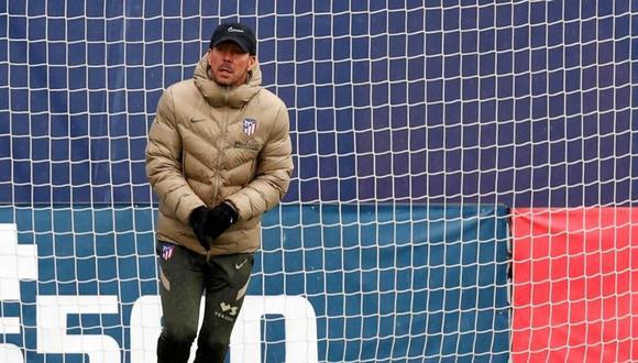El partido entre Atlético de Madrid y Athletic Club quedó suspendido por el mal tiempo. (Foto: EFE)