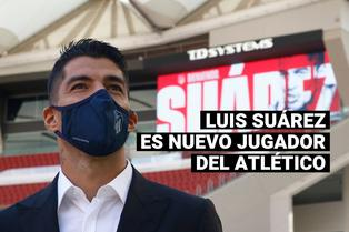 Atlético de Madrid hizo oficial el fichaje de Luis Suárez por dos temporadas
